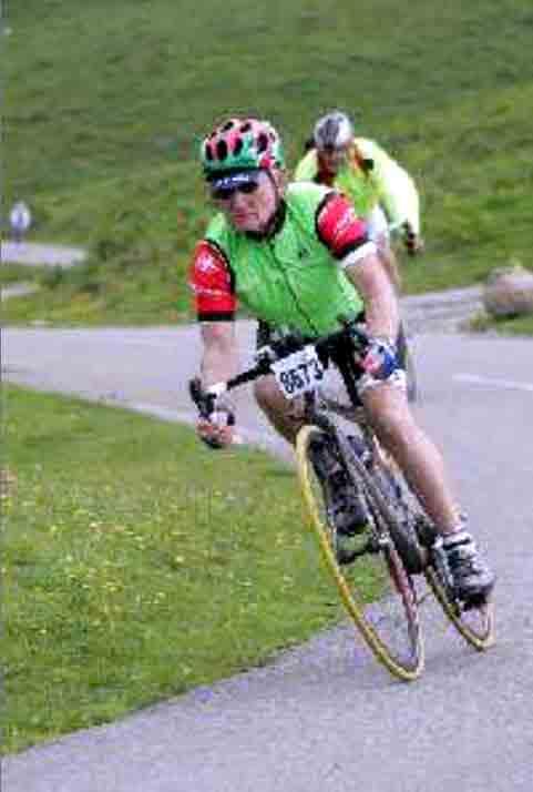 montar en bicicleta hasta los cien años
