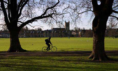 cambridge en bicicleta
