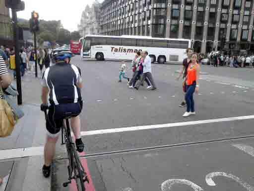 pedalear en Londres