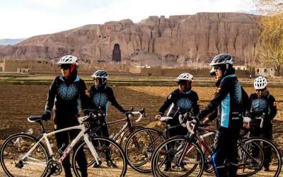 Las mujeres ciclistas lideran una revolución (Afganistán)