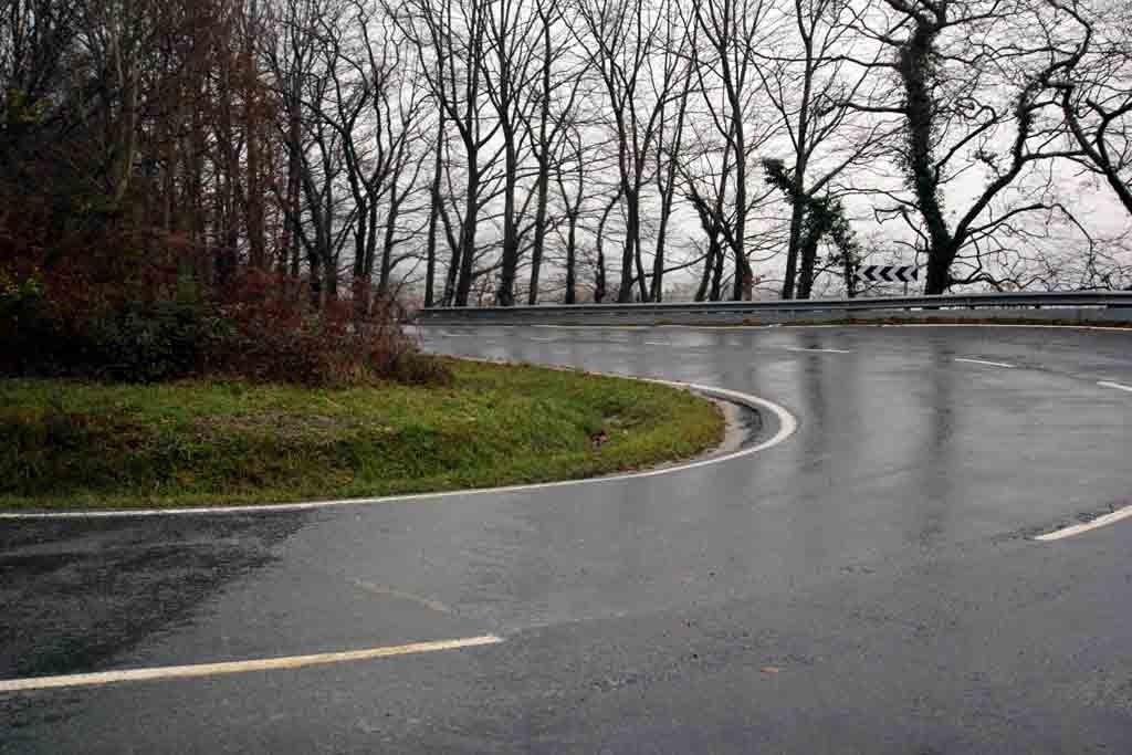 Otsondo Las suaves pendientes de Otsondo son muy atractivas en invierno. Imagen tomada un 28 de diciembre. Foto: qué grande ser ciclista