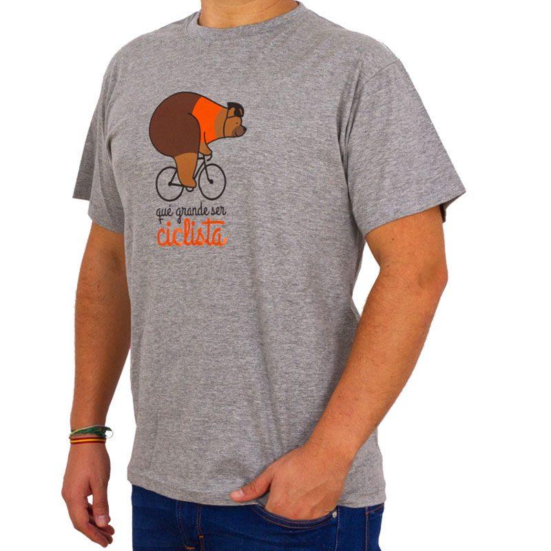camiseta qué grande ser ciclista