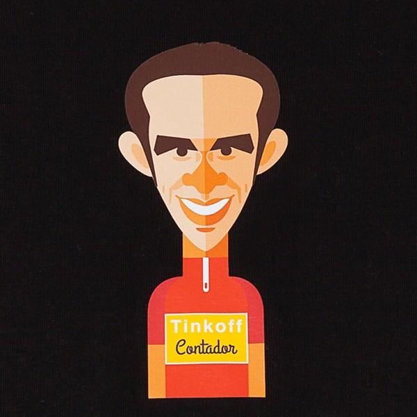 "Camiseta hombre ""Alberto Contador"""