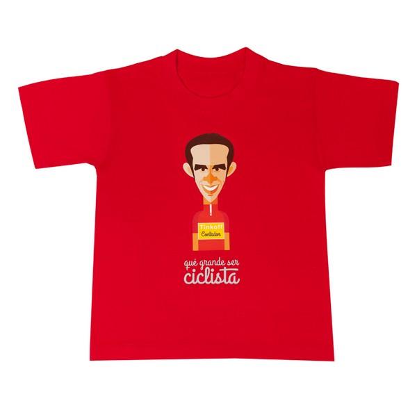 Camiseta infantil Alberto Contador