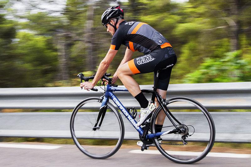 Maillot y culottte qué grande ser ciclista ®