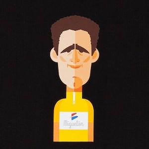 Camiseta hombre Miguel Indurain