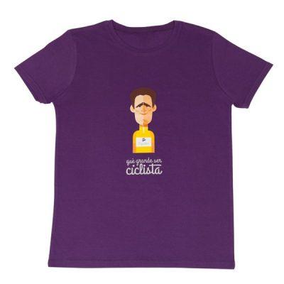 camiseta mujer Miguel Indurain