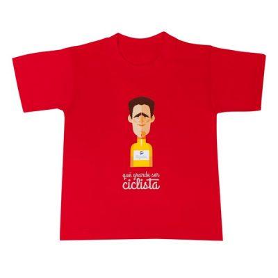 camiseta infantil Miguel Indurain