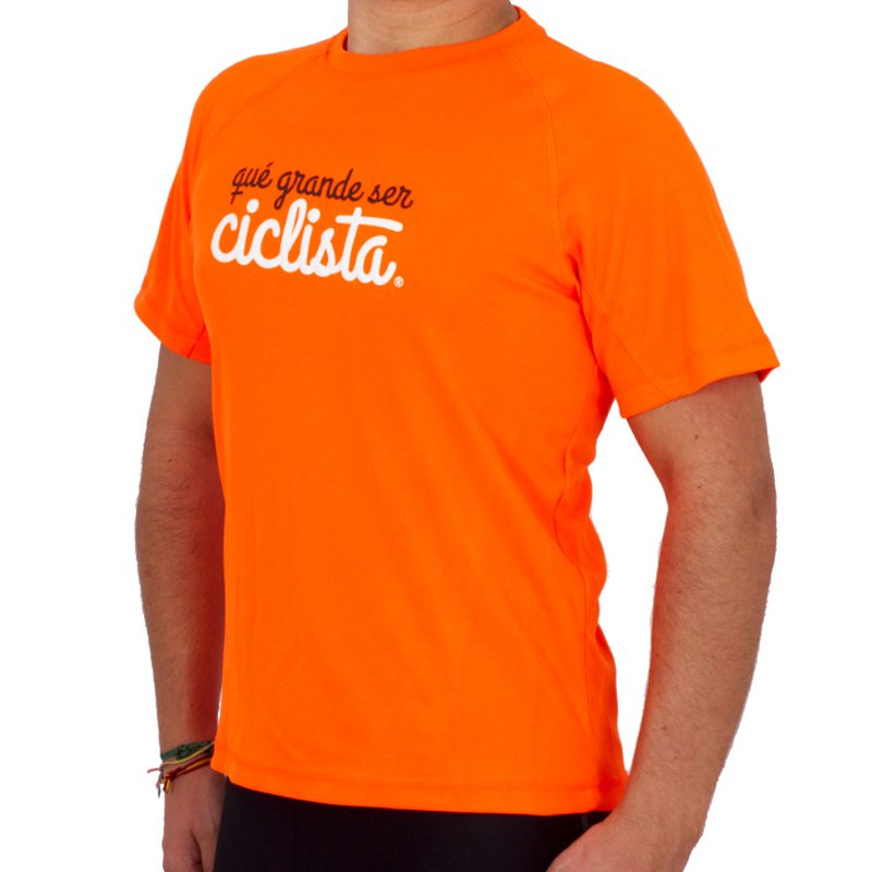 camiseta running hombre