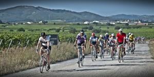 ciclistas de leyenda foto; la pedals de clip
