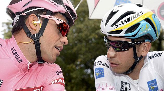 Giro de Italia: la primera batalla por la sucesión ha comenzado