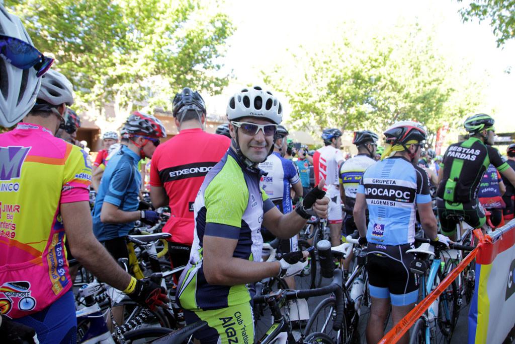 estampas cicloturistas: la salida foto: qué grande ser ciclista