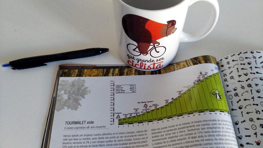 Tourmalet Es aconsejable mirar con detenimiento la altimetría foto: qué grande ser ciclista
