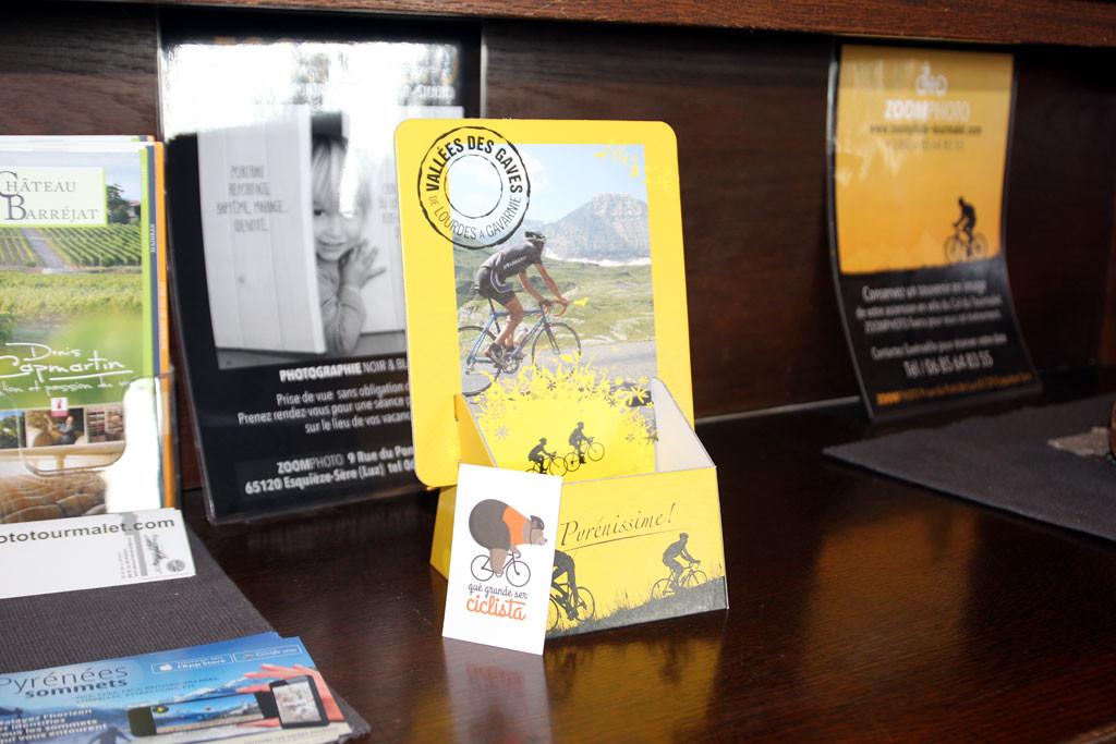 qué grande ser ciclista ya forma parte de la familia del Tourmalet