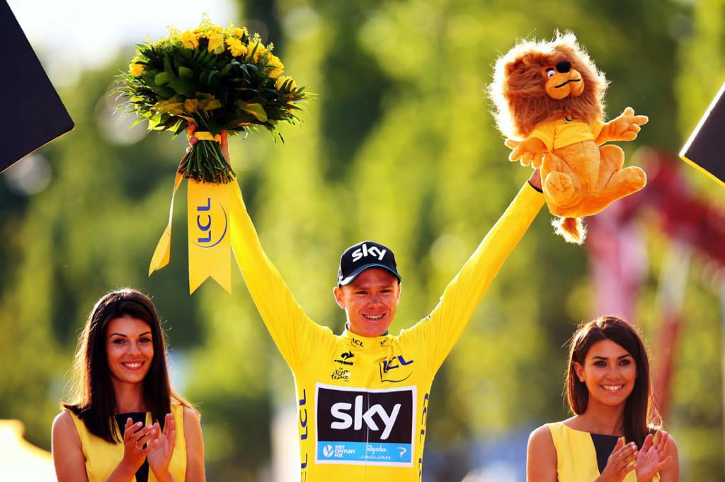 ciclismoChris Froome ha sido sometido a una extrema presión como ciclista y persona.