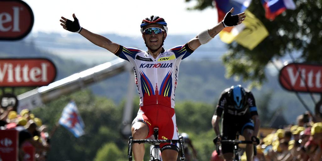 Joaquim Rodríguez, con 36 años sigue persiguiendo su sueño.