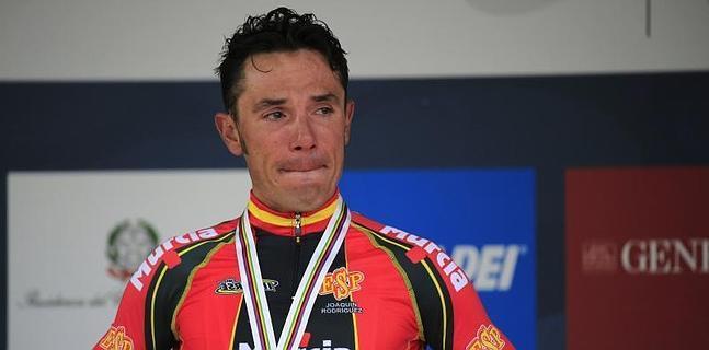 Joaquim RodríguezMundial de Florencia, lágrimas que no se olvidan