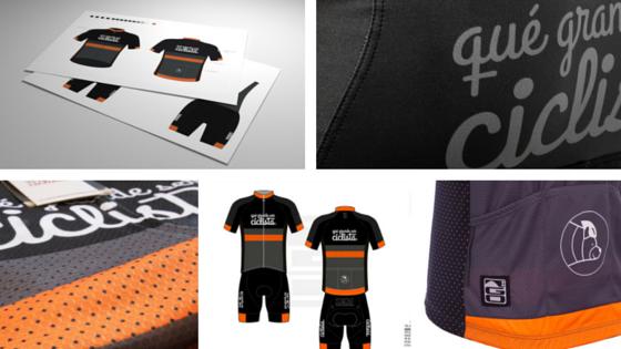 Maillot y culotte qué grande ser ciclista ®: el diseño desde dentro