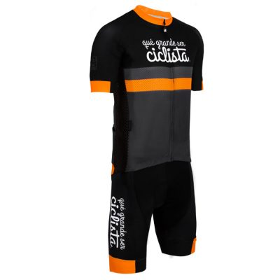 Cycling jersey and shorts que grande ser ciclista