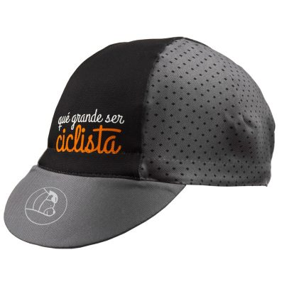 classic II cycling cap grey and black colour