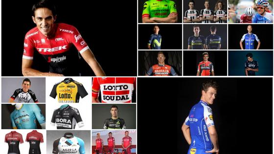 Comparativa de maillots: los 18 diseños World Tour 2017