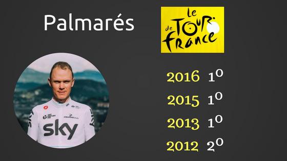 Froome y el Tour de Francia 2017