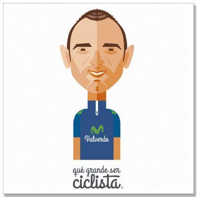 Lámina póster Alejandro Valverde