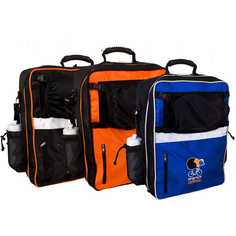 cycling case and back pack qué grande ser ciclista ®