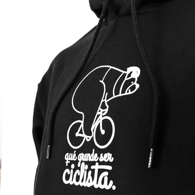 sudadera qué grande ser ciclista