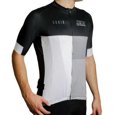 maillot ciclismo blanco clásico II