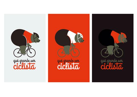 qué grande ser ciclista cumple cuatro años