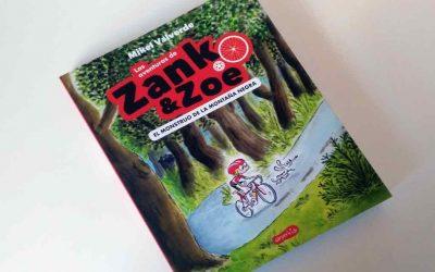 Zoe, la niña ciclista comprometida con los grandes valores