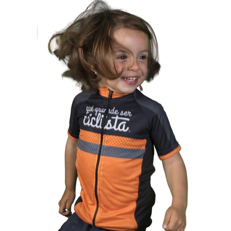 que grande ser ciclista Maillot Ciclismo ni/ños