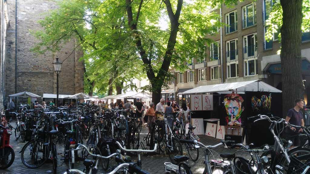 Las bicicletas son las reinas en Bélgica y Holanda