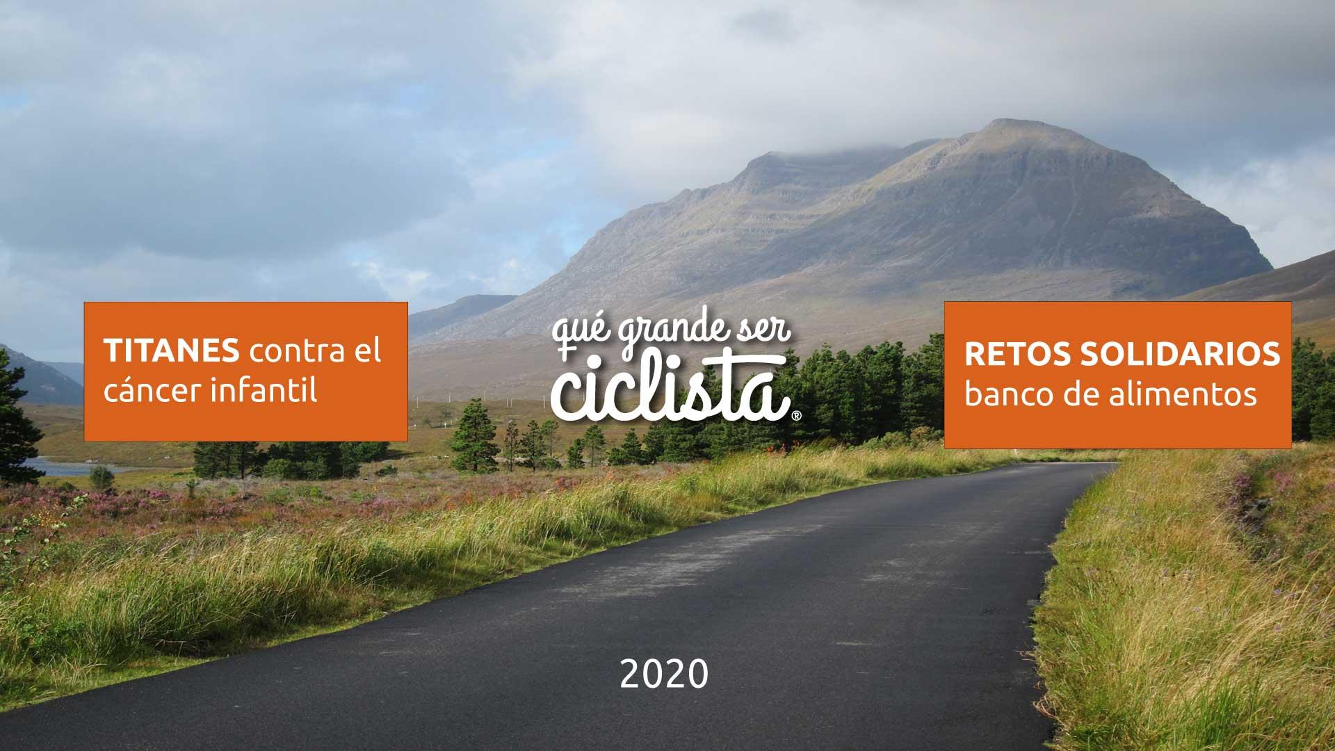 ciclismo y solidaridad