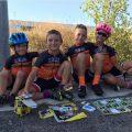 verano bicicletas maillot ciclismo niños