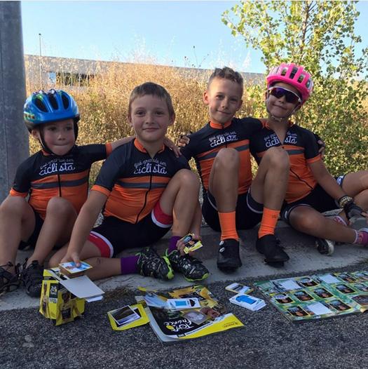 Verano, bicicletas, amigos… ¡disfrutad!