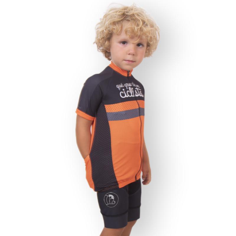 culotte ciclismo niños