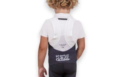 Estrenamos el culotte de ciclismo para niños