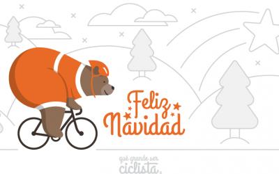 ¡Feliz Navidad ciclista! El vídeo de nuestra felicitación 2020