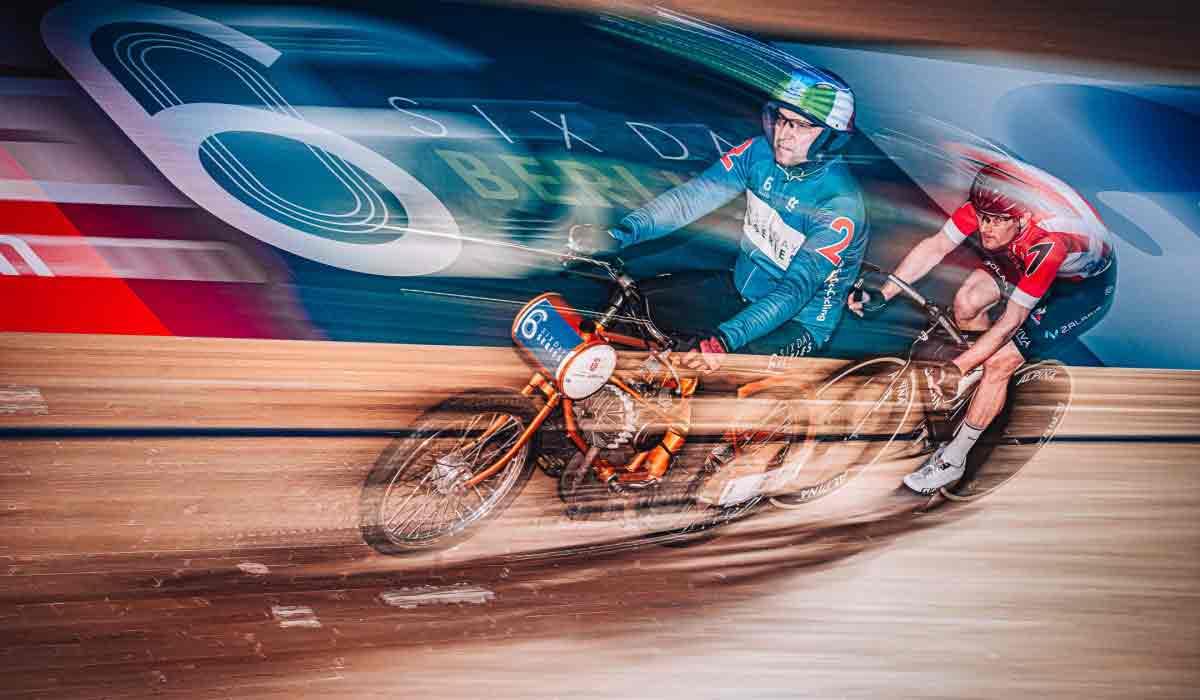 fotos ciclismo en pista