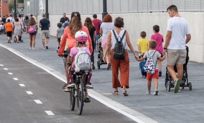 estrategia por la bicicleta